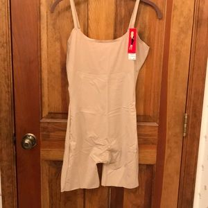 Spanx High Thigh Body suit